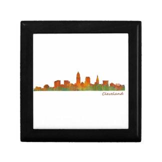 Cleveland Ohio the USA Skyline City v01 Gift Box