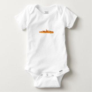 Cleveland Ohio the USA Skyline City v02 Baby Onesie