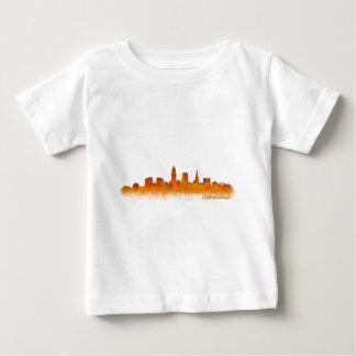 Cleveland Ohio the USA Skyline City v02 Baby T-Shirt