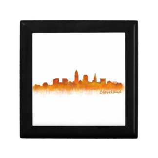 Cleveland Ohio the USA Skyline City v02 Gift Box