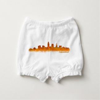 Cleveland Ohio the USA Skyline City v02 Nappy Cover