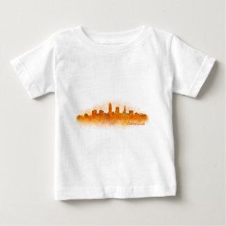 Cleveland Ohio the USA Skyline City v03 Baby T-Shirt