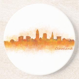Cleveland Ohio the USA Skyline City v03 Drink Coaster