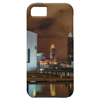 Cleveland Skyline at Night Case For The iPhone 5