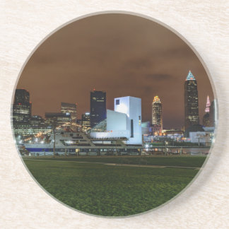 Cleveland Skyline at Night Coaster