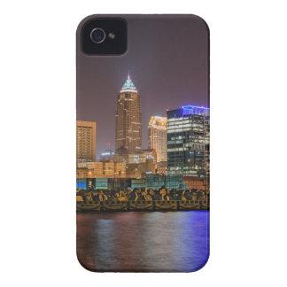 Cleveland Skyline at Night iPhone 4 Case
