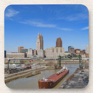 Cleveland Skyline Beverage Coaster