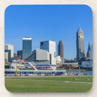 Cleveland Skyline Beverage Coasters