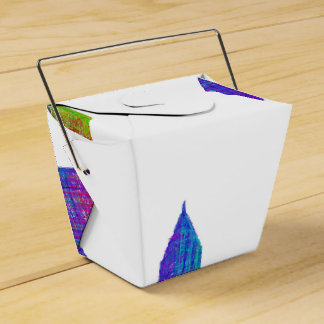 Cleveland skyline favour box
