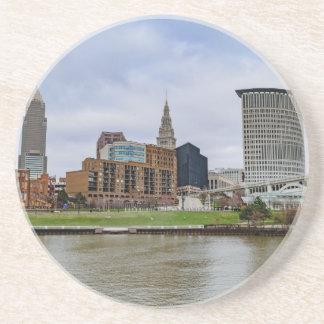 Cleveland Skyline Sandstone Coaster