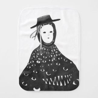 Clever Disguise Burp Cloth