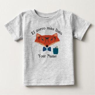 Clever Fox Spanish Language Baby Jersey T-Shirt