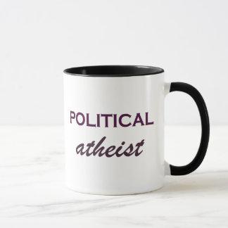 Clever Political Atheist Mug