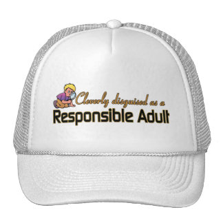 CLEVERLY DISGUISED AS A RESPONSIBLE ADULT HAT