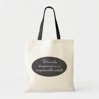 Cleverly Disguised bag - choose style & color
