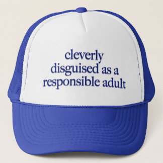 Cleverly Disguised Trucker Hat