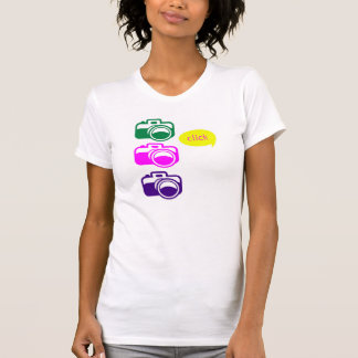 'Click' Cameras Photography T-Shirt