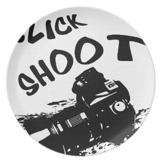 Click click shoot plate