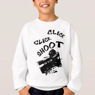 Click click shoot sweatshirt