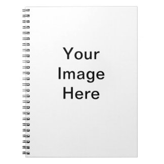 CLICK CUSTOMIZE IT - ADD YOUR PHOTO HERE! MAKE OWN SPIRAL NOTEBOOK