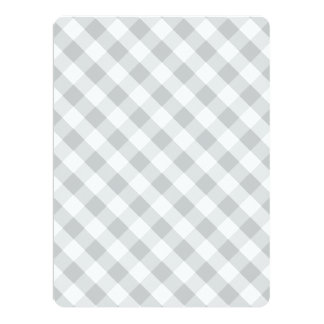 """Click Customize it Change Grey to Your Color Pick 6.5"""" X 8.75"""" Invitation Card"""