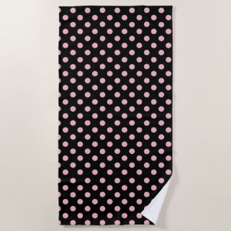 Click Customize to Change Pink Decor to Your Color Beach Towel