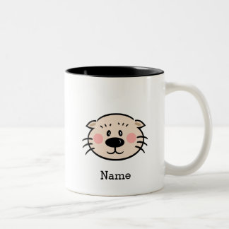 (click to change color) Ollie Mug