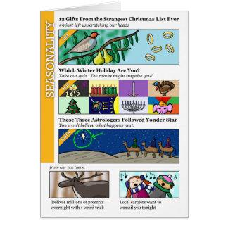 Clickbait Christmas Card