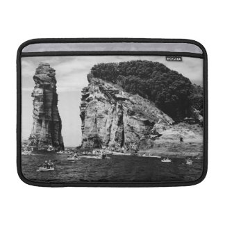 Cliff Diving event MacBook Air Sleeves