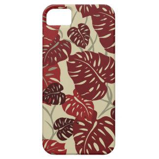 Cliff Hanger Hawaiian Leaf  iPhone 5 Case