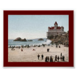 Cliff House, San Francisco 1902 Poster