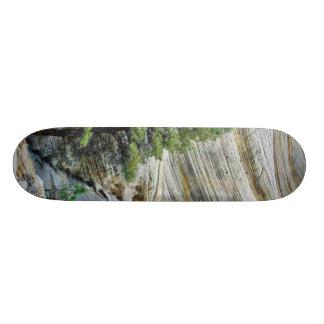 Cliff Near The Checkerboard Mesa Region Of Zion Na 20.6 Cm Skateboard Deck