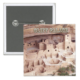 Cliff Palace Pinback Button
