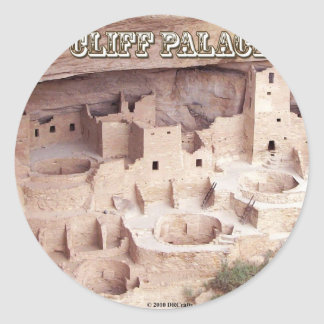 Cliff Palace Classic Round Sticker
