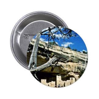 Cliff Palace - Mesa Verde National Park Pinback Buttons
