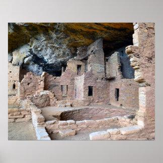 Cliff Palace, Mesa Verde National Park, Colorado Poster
