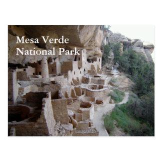 Cliff Palace, Mesa Verde Postcard