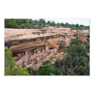 Cliff Palace Panorama, Mesa Verde, Colorado, 12x8 Photo Print
