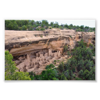 Cliff Palace Panorama, Mesa Verde, Colorado Photo Art