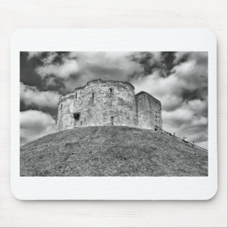 Clifford's Tower in York  historical building Mouse Pad