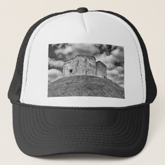 Clifford's Tower in York  historical building Trucker Hat