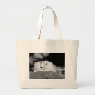 Cliffords Tower York Tote Bags