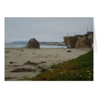 Cliffs Along Pismo Beach Shoreline Card