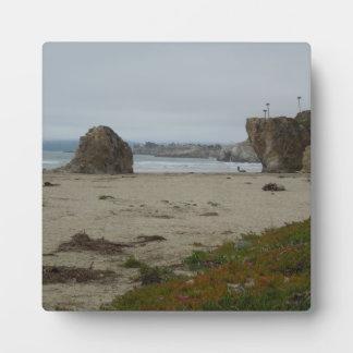 Cliffs Along Pismo Beach Shoreline Photo Plaques
