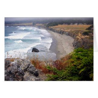 Cliffs at Sea Card
