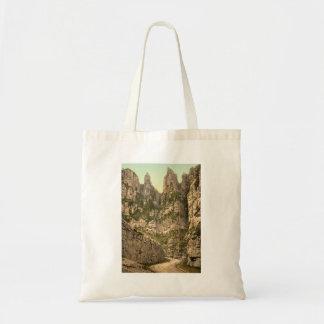 Cliffs I, Cheddar, Somerset, England Tote Bag