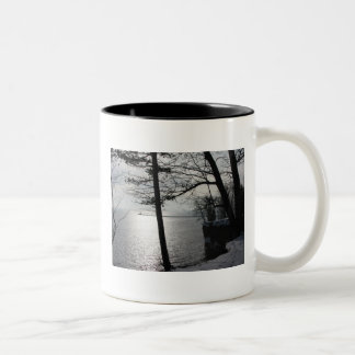 Cliffs in Marquette Mugs