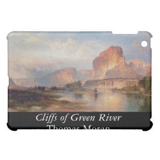 Cliffs of Green River - 1874 iPad Mini Cases