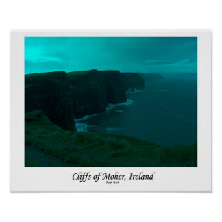 Cliffs of Moher, Ireland Poster