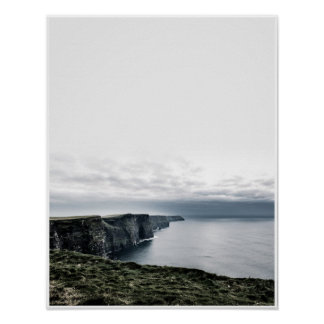 Cliffs of Moher, Ireland Travel Photograhy Poster